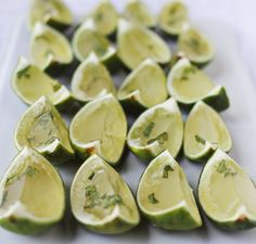 These #mojito jello #shots will be making their way into all of our #summer soirees.