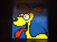 Custom Lego Odie Mosaic 32x32 by C3Brix on Etsy, $55.00