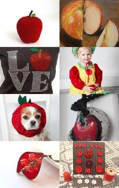 An Apple for the Teacher by Marionette--Pinned with TreasuryPin.com