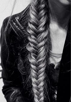 Hairburst infused fishtail braid