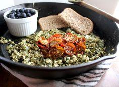 Pesto-Tofu-Scramble #vegan #musttry