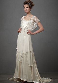 Sheath/Column Elastic Silk-like Satin Floor Length Square Natural Waist Wedding Dress BG000266