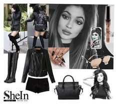 """""""SHEIN CONTEST #SheIn #Kylie Jenner"""" by maria-notte ❤ liked on Polyvore featuring L'Agence, Casetify and Kendall + Kylie"""