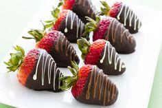 Receta de Fresas Cubiertas con Chocolate