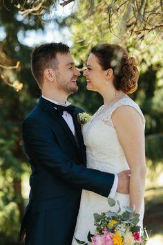 Wedding portraits outdoor