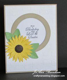 Crafty Nana's Blog: Happy Birthday for a Friend