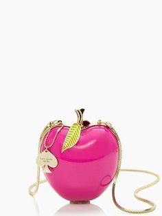 Far From the Tree resin apple bag from Kate Spade. Im not sure this would be practical, but its pretty dang cute!