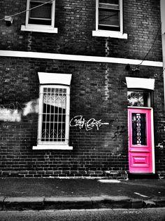 the pink door.   Fitzroy
