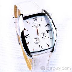 ホワイトインポートムーブメントローマンNummber腕時計