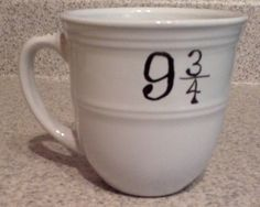 """9 & 3/4"" FROM: This mug. 