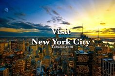 Bucket List | Live in New York City for 6 Months