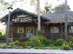The Reception Outpost is your first stop when entering Disney's Fort Wilderness Resort. Here, you'll get your resort ID cards, maps and information about Fort Wilderness. You can also add charging privileges to your Resort ID at the Reception Outpost.