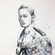 juxtaposition #fashionillustration#fashion #fashiondrawing #models#instaart #imperfect #inspiration #illustration #drawing #artes #acrylic #artwork #androgynous #andro #pencil #painting #texture#skin #karnkarnillustration#amandamurphy