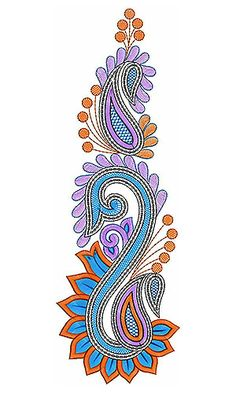 South Indian Saree Sequins Embroidery Design