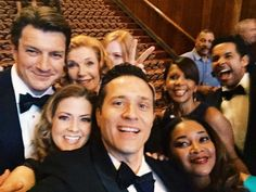 Almost perfect! RT @CleverDever: The moment #Castle fans have been waiting for: Epic selfie #1. #CastleSeasonFinale