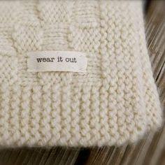 Big Bad Wool Weepaca Basket Weave Baby Blanket Knitting Pattern
