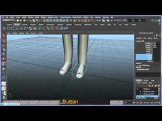 Basic bipedal character rigging setup in Maya - Part 3 of 8 - YouTube