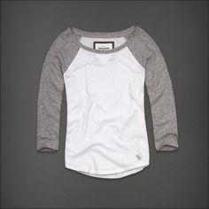 hollister baseball shirt