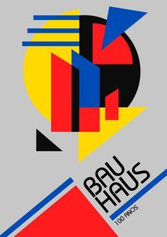 Design Bauhaus, Bauhaus Art, Bauhaus Style, Bauhaus Logo, Wassily Kandinsky, Creation Flyer, Graphic Design Magazine, Magazine Design, Theo Van Doesburg