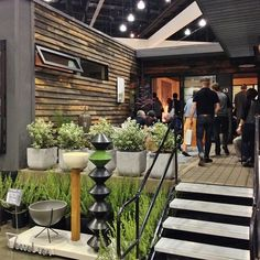 OUR ULTIMATE HOME. SAW THIS AT THE SHOW...Deck View of LivingHome's C6.1's Prefab — Dwell on Design 2013