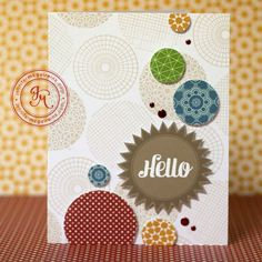 Jennifer Mcquire--really like simple cards...