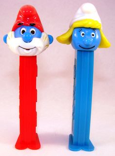 Did you have a Papa Smurf or Smurfette Pez Dispenser back in1989?  Do you collect Pez now?