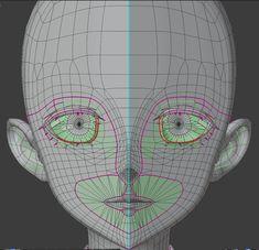 3d Model Character, Character Modeling, 3d Modeling, Face Topology, 3d Tutorial, Make Design, Im Trying, Fantasy Girl, Zbrush