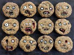 GF - Creepy Chocolate Chip Cookies for Halloween