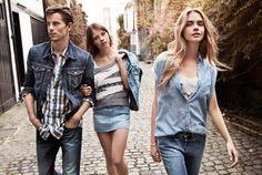 Cara Delevingne for Pepe Jeans Spring Summer 2013 Campaign
