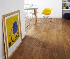 Multi Width Oak Brushed & Matt Lacquer Solid Wood Flooring