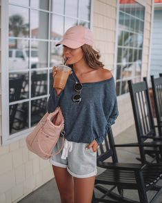 Summer Fashion Outfits, Spring Summer Fashion, Spring Outfits, Casual Outfits, Cute Outfits, Beach Style Fashion, Sporty Summer Outfits, Casual Beach Outfit, Summer Workout Outfits