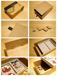 Earrings box