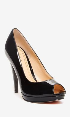 Chelsea Peep Toe High Pump