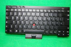 QWERTZ ThinkPad Tastatur DE T 430 / 530, X230, W530 u.a., Backlight, FRU 04W3075