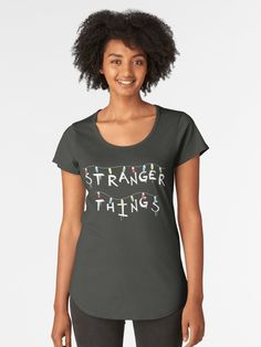 'Shadowhunter Fearless rune' Premium Scoop T-Shirt by Jesus Shirts, Just Love, Mama Shirts, Fashion Mode, Womens Fashion, Korean Fashion, Ootd Fashion, Fashion Ideas, Fashion Dresses