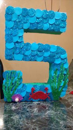 Cumpleaños de Ariel  la sirenita !