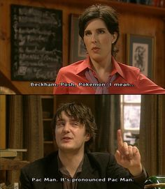 The moment I fell in love with Black Books