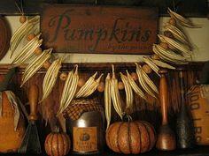 deppenhomestead1862... Indian corn garland