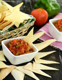 Tacos mexican tacos recipe vegetarian tacos recipe tangier salsa mexican recipe by tarla dalal tarladalal 836 forumfinder Gallery