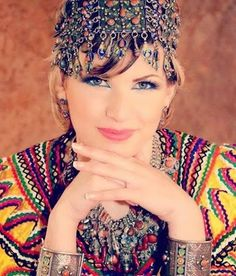 Dress a traditional Algerian Amazigh