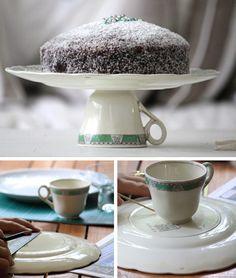 Original bandeja para pasteles (cake stand)