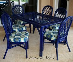 painting sling back chairs - Google Search