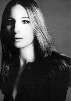 A young Barbra Streisand by Richard Avedon.