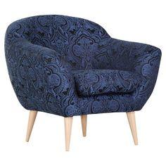 Ein Sessel mit barockem Sitzgefühl. Die halbhohe Lehne ermöglicht zum einen ein bequemes Zurücklehenen, zum andern ist das Design ein absoluter Hingucker!