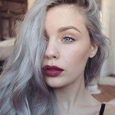 "WEBSTA @ mirandahedman - @nyxcosmetics soft matte lip cream ""copenhagen"", born to glow illuminator ""sunbeam"""