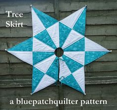 A six page illustrated pattern to make a super Christmas Tree Skirt. Using templates and two different fabrics you can create this lovely harlequin