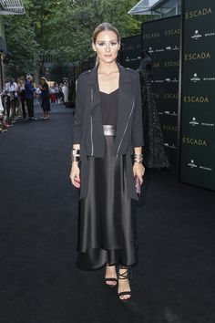 Pin for Later: Olivia Palermo Wears the Summer Look For All-Black-Outfit Enthusiasts