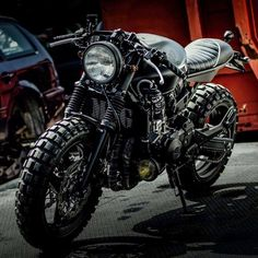 Honda Hornet 600 cafe cross by Motor più Garage