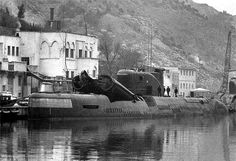 Back to the Secret Underground Complex of Balaklava - English Russia Russian Submarine, Interesting News, English Language, The Secret, Weapons, Ships, Boat, Navy, Artwork