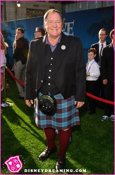 "John Lasseter Wears A Kilt To The Disney Pixar ""Brave"" Movie Premiere"